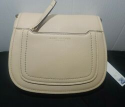 Marc Jacobs Empire City Mini Messenger Leather Crossbody Bag Tan $175.00