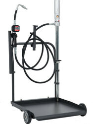 Alemlube El Series Mobile 205l Oil Transfer Kit With Meter And Trolley O30060