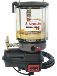 Alemlube 12v Electric Pump With 1.9kg Reservoir 1 X Fixed Element 21753005101