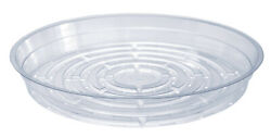 Curtis Wagner Plastics Corp Cw-1000n 10 Clear Plastic Plant Saucer Pack Of 50