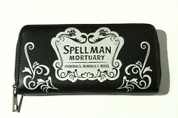 Sabrina the Teenage Witch Clutch Wallet Purse Spellman Mortuary Brand New C $19.99