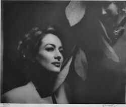 George Hurell Joan Crawford Gelatin Silver Photo Hand Signed And Numbered Coa