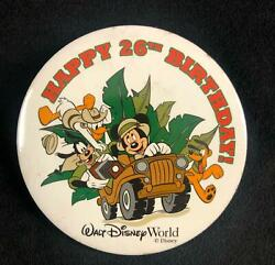 A Lot Of 160 Vintage Walt Disney World Happy 26th Birthday Mickey Mouse Donald D