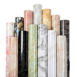 Marble Paper Self Adhesive Film Counter Stick Waterproof Peel And Stick Countertop