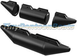 7and0391 Long 17 Diameter Dual Nose Modular Plastic Boat Usv Surface Vehicle Floats