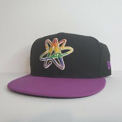 Albuquerque Isotopes New Era Wool Official Minor League Lgbtq Pride Size 7 3/8