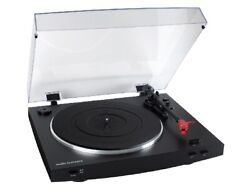 Audio-technica At-lp3 Vm Cartridge Belt Drive Phono Equalizer Record Player