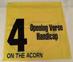 On The Acorn Saddle Cloth  2005 Opening Verse Handicap At Churchill Downs