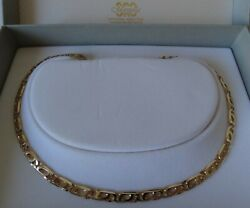 Collana- Oro - Nuovo- Made In Italy- Necklace - Gold- New - Italy