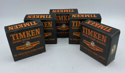 5 Vtg Timken Lm-48510 Tapered Roller Bearing Cup5 Total Boxes Nos Excellent