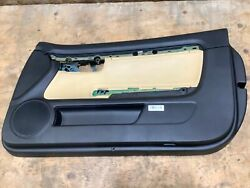 2005 Audi A4 Convertible Front Passenger Side Interior Door Panel Cover Oem+
