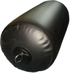 New Black 14x30 Inflatable Yacht Fender 2 Pack
