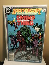 Swamp Thing 50 Canadian Price Variant Newsstand 1986 Justice League Dark