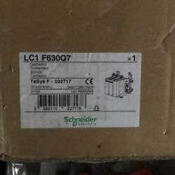 One New In Box Snd Contactor Lc1f630q7 630a 380v 50/60hz Spot Stock