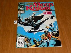 Marc Spector Moon Knight 1 1989 Show Coming High Grade - Must See Lot C