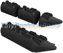 9and039 Long 26 Wide Modular Plastic Boat And Dock Pontoons Logs Floats Pair New