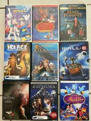 Lot Of 95 Used Assorted Dvd Movies - 95 Bulk Dvds - Used Dvds Lot - Wholesale