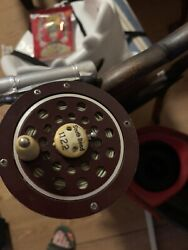 1959 Gibsons Hollowglass156 8'fly Rod / 1959 Southbend 1122 Fly Rod Vintage