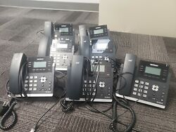Verizon-t41p Office Desk Phones - Used, All Work Great. Qty 71 Is A T741s