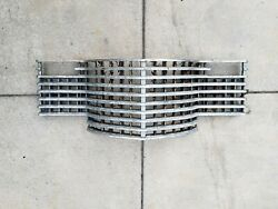 1941 41 Cadillac Sixity Special Chrome Front End Radiator Grille Gm Oem Vintage
