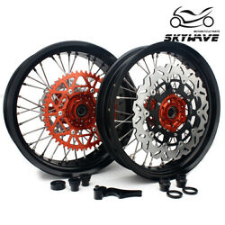 3.5/4.25 Front Rear Wheels Rotor Sprocket For Ktm 125 150 250 450 530 Sx Sxf Exc