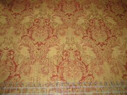 Damask True Tapestry Upholstery Fabric 54 quot; Wide Wine amp; Ivory By the Yard