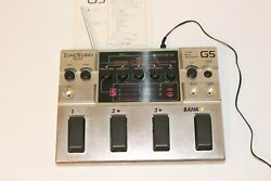 Korg G5 Synth Bass Processor W/ac Power Adapter Excellent From Japan Tested