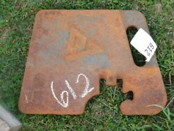 Allis-chalmers 7000 Series Suitcase Weights 10 Part 267881 Tag 612