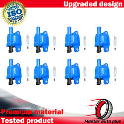 Energy Ignition Coil And Acdelco Double Platinum Spark Plug For Chevrolet Suburban