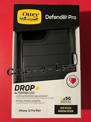 OtterBox Defender Pro Series Case amp; Holster For Apple iPhone 12 Pro Max Black