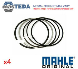 Engine Piston Ring Set Mahle 033 16 N0 4pcs G Std For Audi A4a6tta3cabriolet