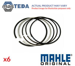 Engine Piston Ring Set Mahle 028 Rs 00124 0n0 6pcs G For Audi A6a5q7a8a4a7