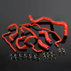 Silicone Coolant Radiator Hose Kit Fit For Volkswagen 99-06 Golf Mk4 1.8t Turbo