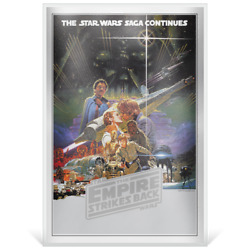 Niue 2018 2 Star Wars The Empire Strikes Back Premium 35g Silver Foil Bu