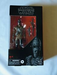 New Hasbro Star Wars The Black Series Ig-11 6 Droid Figure Damaged Box