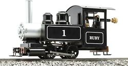 Accucraft Trains - Ruby 0-4-0 Ready To Run Black Live Steam