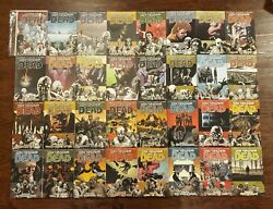 The Walking Dead Tpb Vol 1-32 Complete Series Full Run Signed Moore And Adlard