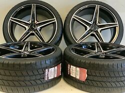 Wheels Rims Fit Factory Mercedes Benz S550 Style Amg S63 C63 New 19 Inch Black