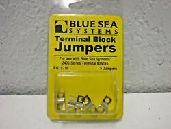 Blue Sea Systems Nickle Plated Brass Terminal Block Jumpers 9218 5 Jumpers