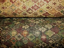 TRUE TAPESTRY Moroccan Tile TAPESTRY UPHOLSTERY FABRIC BY THE YARD54quot; Wide BTY