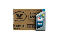 Valvoline Vr1 Racing 10w-30 Motor Oil Conventional Engines Protection 1qt 6 Pc