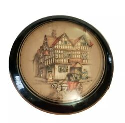 The Bell Inn Tewkesbury England Picture By Clyde Cole 6 Round Dome Glass Insert