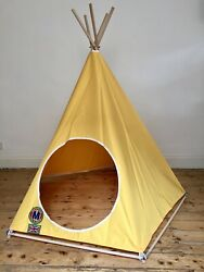Childrens Play Teepee - Tipi - Play Tent - Beach Tent - Indoor - Outdoor