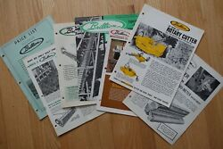 Various Vintage 1960's Brillion And Arps Of Wisconsin Farm Catalog Inserts