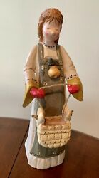 12 Days Of Christmas House Of Hatten Denise Calla Maids A Milking Mantle Figure