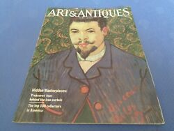 Art And Antiques Magazine March 1986 George Catlin Black Hawk Painting Collector