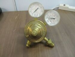 Victor Compressed Gas Regulator Vts450e 3000 Psi Inert Gas/air/oxygen Used