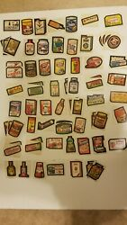 Vintage Lot Of 71 Topps Wacky Packs Stickers From The 70s, 6th-9th Series