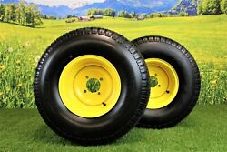 22x9.50-10 Tires And Wheels 4 Ply For Lawn And Garden Mower Turf Tires Set Of 2