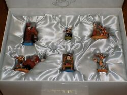 Walt Disney Collectibles Pinocchio Pewter Miniatures, Only 1000 Made, With Coa